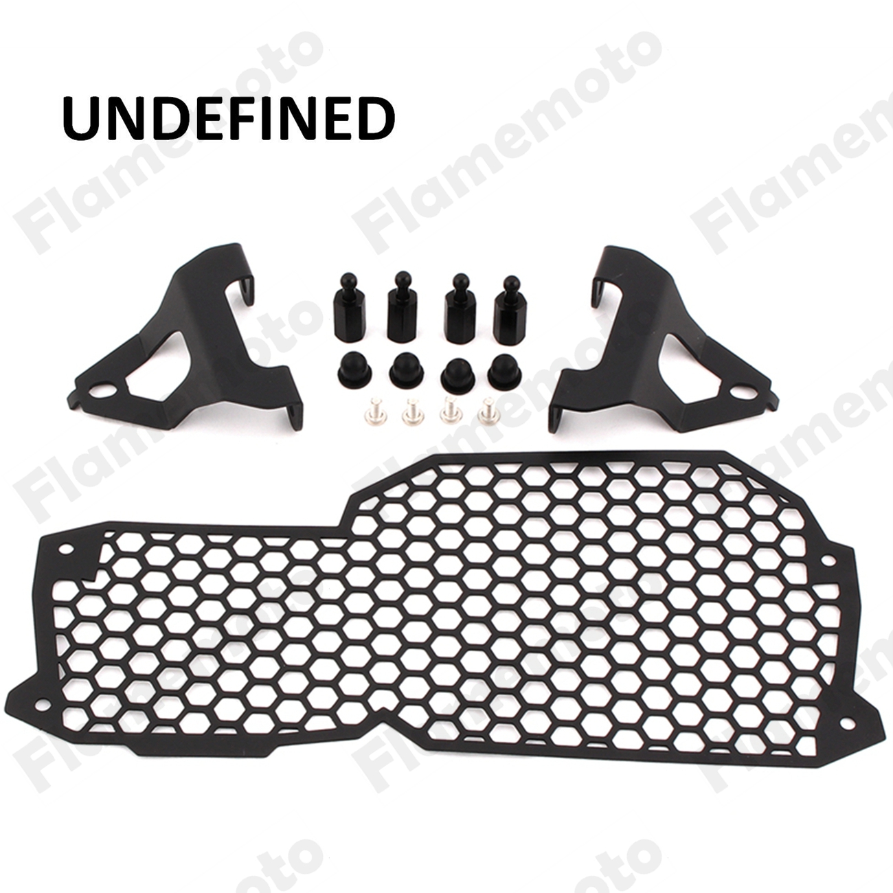 Motorcycle Parts Black Headlight Headlamp Mesh Protector Guard Cover For BMW F650GS 2008-2013 F700GS F800GS 2008-2016  UNDEFINED
