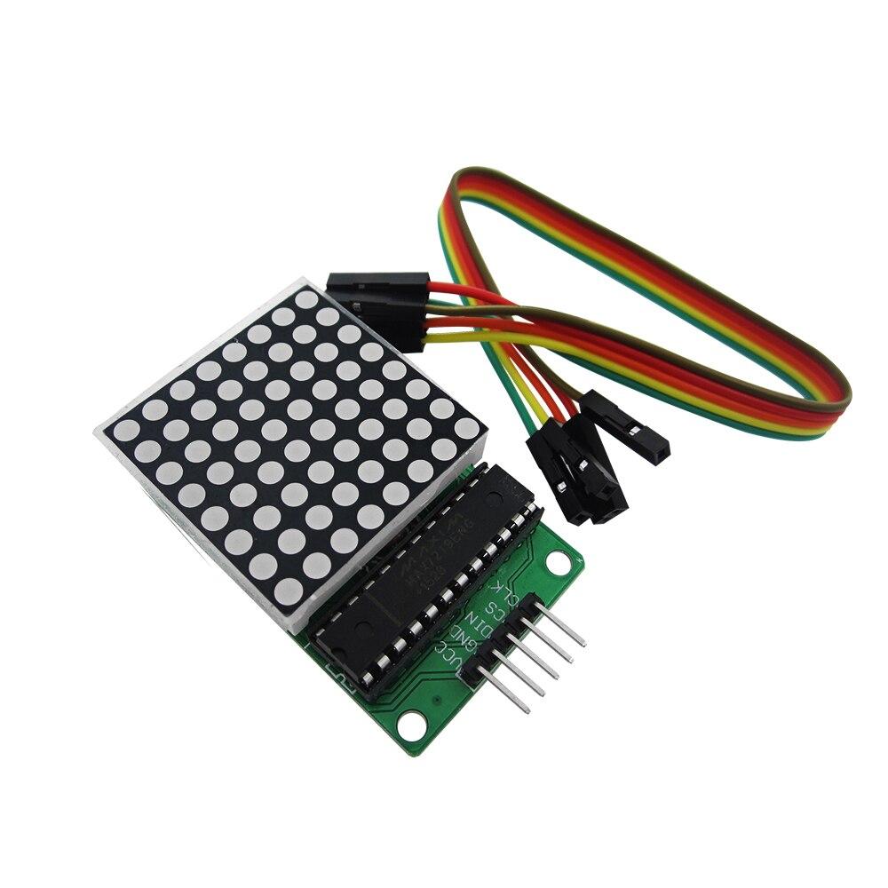 10PCS MAX7219 dot matrix module microcontroller module control module display module finished goods