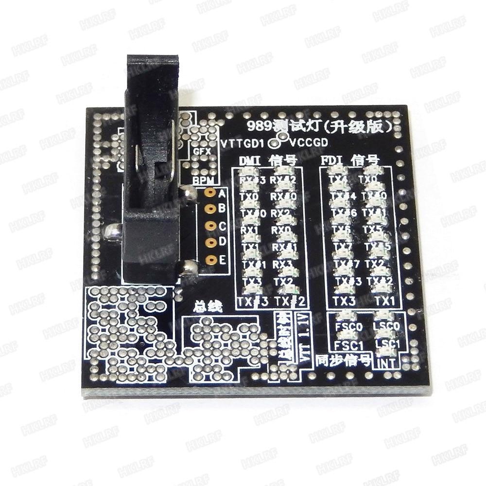 New Laptop Cpu Socket 988 989 Test Kartu Untuk I3 I5 I7 Papan Utama Dim Fdi Led Test Card Socket Laptop I3card Card Aliexpress