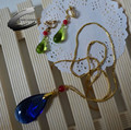 Howl's Moving Castle Howl cosplay costume GOOD quality ACGcosplay Helloween earrings and necklace