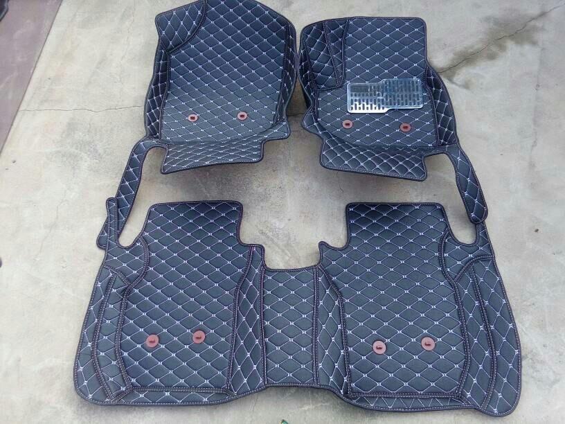 right steering RHD Waterproof Carpet Durable Special Car Floor Mat For Renault Duster Fluence Kangoo Koleos Magane Scenic Kadjia