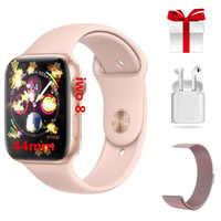 Reloj inteligente iwo 8 DE LUJO reloj inteligente para hombre iwo8 reloj inteligente hombre con monitor de ritmo cardíaco ECG para samsung reloj inteligente honor
