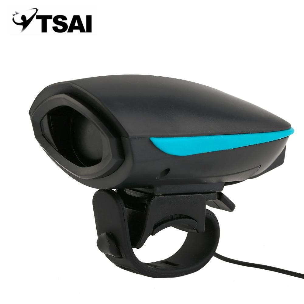 140db kerékpáros harang elektromos kerékpáros fogantyú szarv hangos kültéri riasztó harang biztonsági éjszakai lovaglás kerékpár tartozékok USB feltöltés
