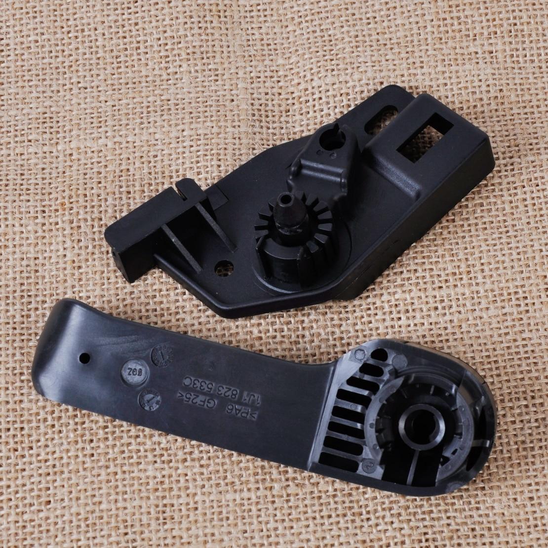 ¡Nuevo! pestillo negro beler + soporte para VW Jetta Golf Beetle para Skoda Fabia Octavia 1J1823633A 1J1823533C