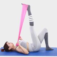 Elasticity Yoga Belts Body Building Exercise Training Fitness Belt Stretch Strap Gym Gum for Resistance Bands