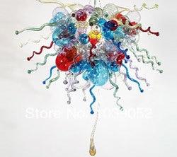 Sztuki współczesnej doprowadziły żyrandol dmuchanego szkła dekoracyjny element oświetleniowy