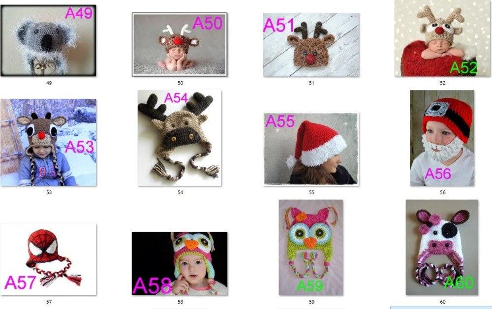 chapéu bonito das crianças handmade crochet chapéu