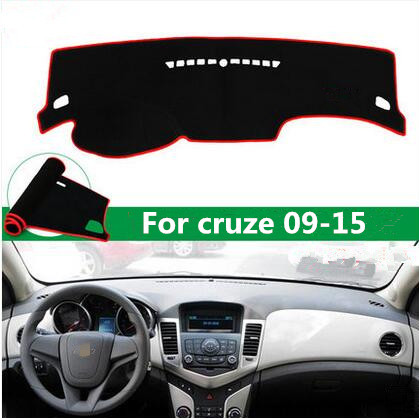 For Chevrolet Cruze car sticker dashboard Avoid light pad 2009-2015 style interior accessories Instrument platform cover Mats novline autofamily chevrolet cruze 2009 цвет черный