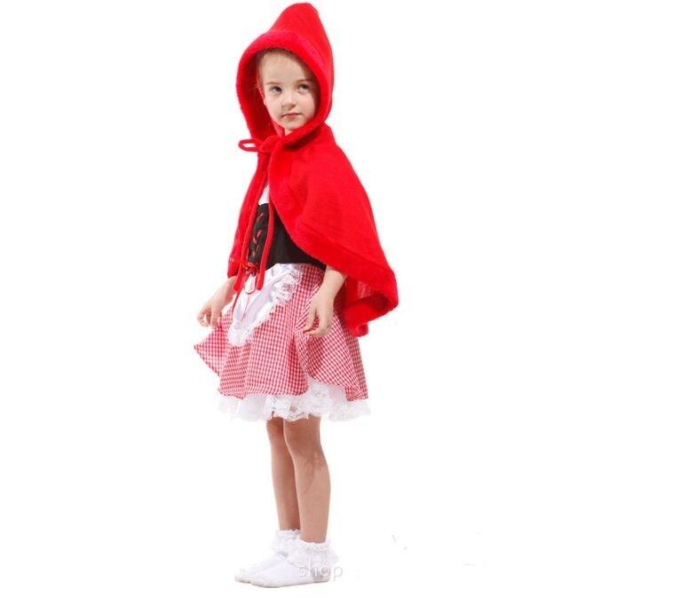 meisjes sprookjes little red riding hood cosplay kostuum kid clothes - Carnavalskostuums