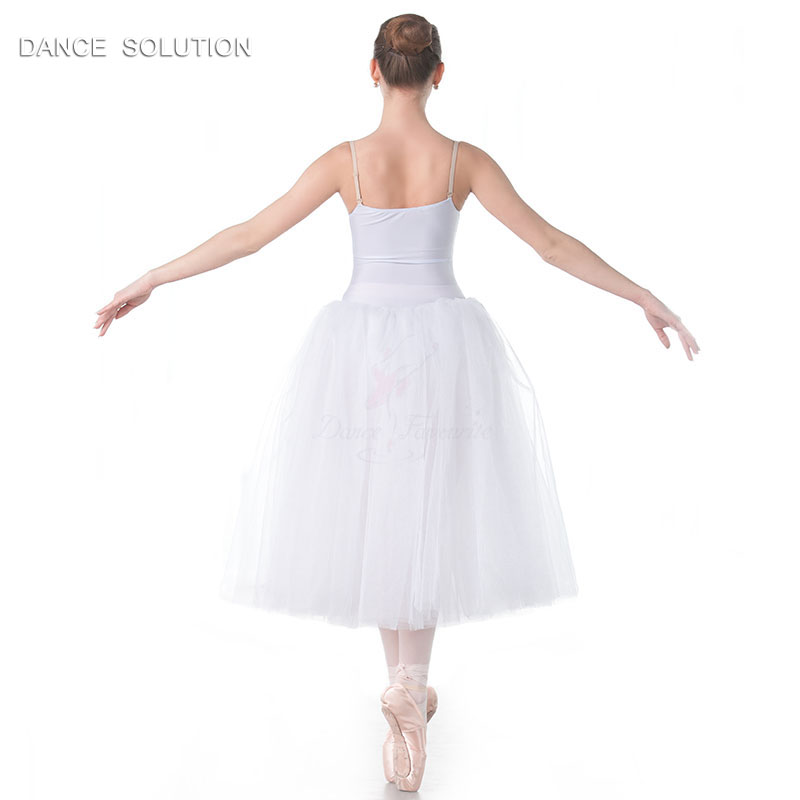 White Romantic Tutus Camisole Long Ballet Tutu for Child and Adult Performance Costume Ballerina Dress 11 Sizes Available 18012-in Ballet from Novelty & Special Use    3