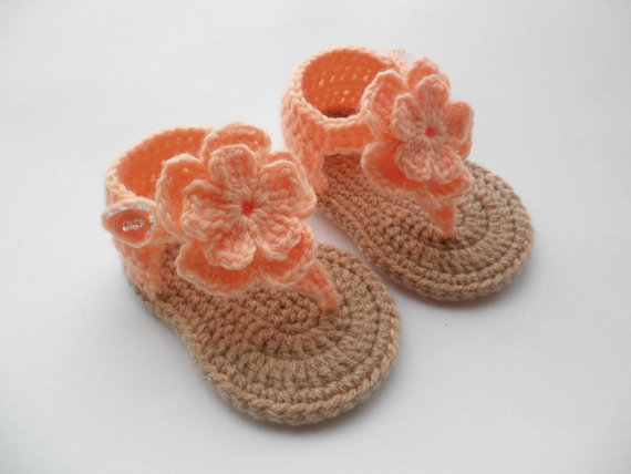 Aliexpress.com : Buy Handmade Baby Shoes, Crochet Toddler shoes ...