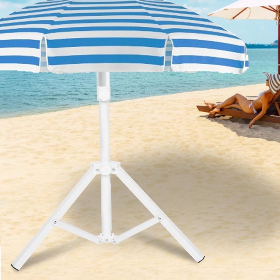 Miraculous Triangular Iron Folding Sun Umbrella Stand Support Base For Beach Garden Camping Fishing Sturdy Frankydiablos Diy Chair Ideas Frankydiabloscom