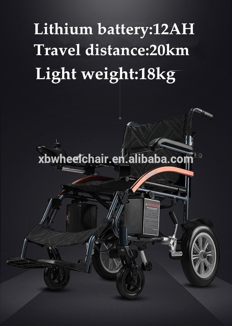 все цены на New automatic folding super lightweight electric wheelchair with solid wheels онлайн