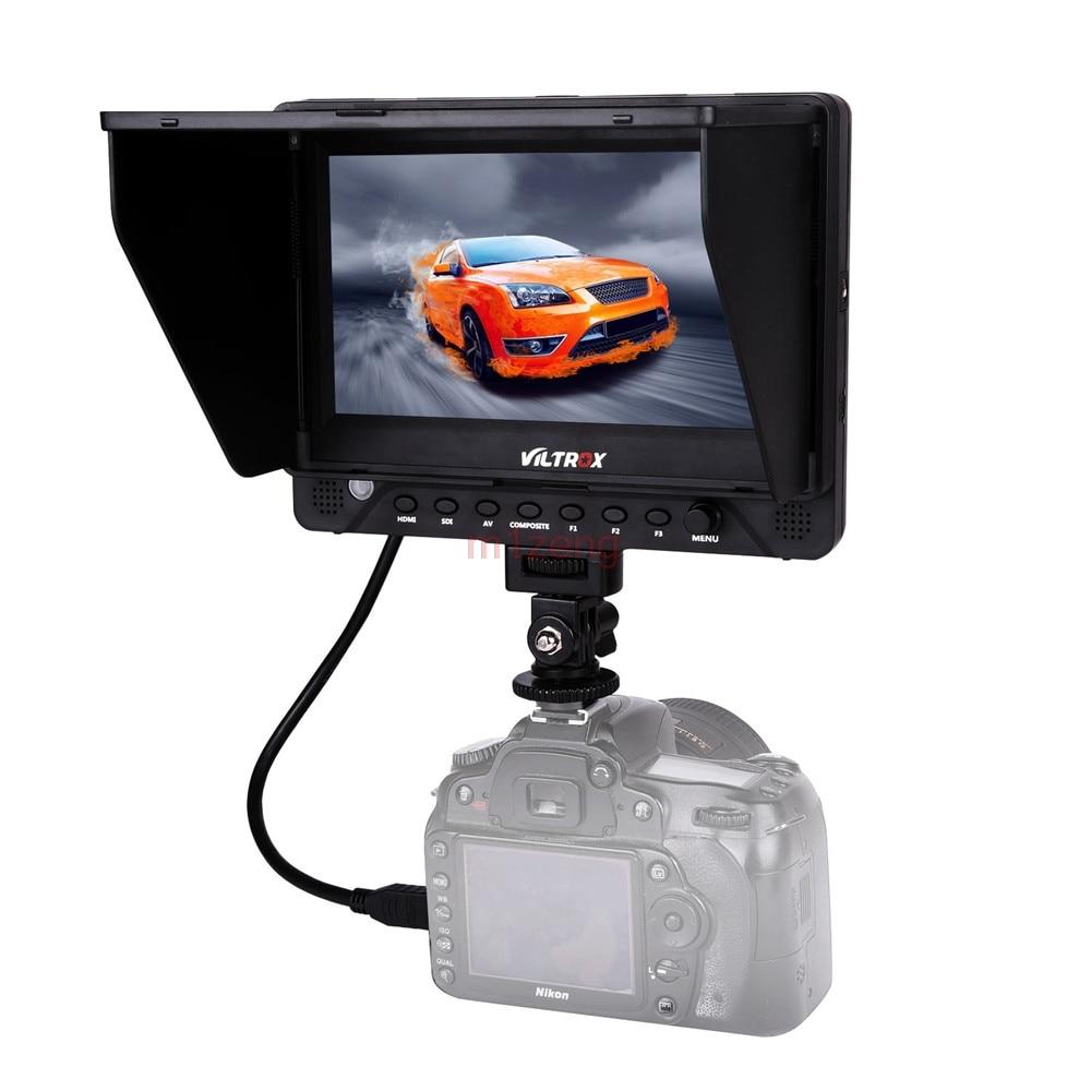 4 K 7 ''1920x1200 IPS HD LCD moniteur affichage SDI/HDMI/AV entrée et sortie pour Canon Nikon Sony DSLR caméra vidéo