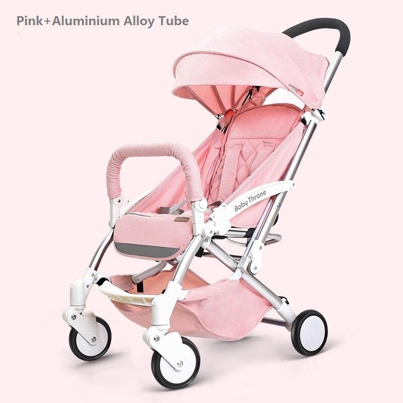 Liga de Alumínio do Bebê Luz 2019 Highlandscape Absorbertrolley Strollercan