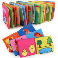 Cartoon Weichen Tuch Baby Jungen Mädchen Bücher rammel balletje bett glocke spielzeug baby spielzeug neugeborene spielzeug für kleinkinder spielzeug 0-12 monate