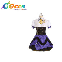 CGCOS Coplay Clothes Party Role Play Uniform Cosplay Costume THE IDOLM@STER Cinderella girls Shibuya Rin Costume Anime Dress