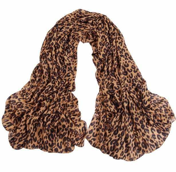 Leopard Print Khăn Lụa Femme Hà Lan Mùa Thu 65*165 CM Kích Thước Lớn Khăn Phụ Nữ Khăn Choàng Bọc Bandana Dài Satin khăn quàng Nữ