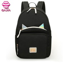 Hot Selling School Bags For Teenagers Mini Backpacks High Quality Canvas Japan and Korean Style Noctilucent Women Shoulders Bag