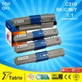 Для OKI C310 тонера совместимый C310 обломок патрона тонера для OKI C310 / C330 / MC361 / C510 / C530 / MC561 с iso, гук, sgs, CE утвержденный