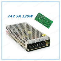 Universal Regulated Switching Power Supply 24V 5A 120W LED Driver High Quality 120W 5V 24A DC