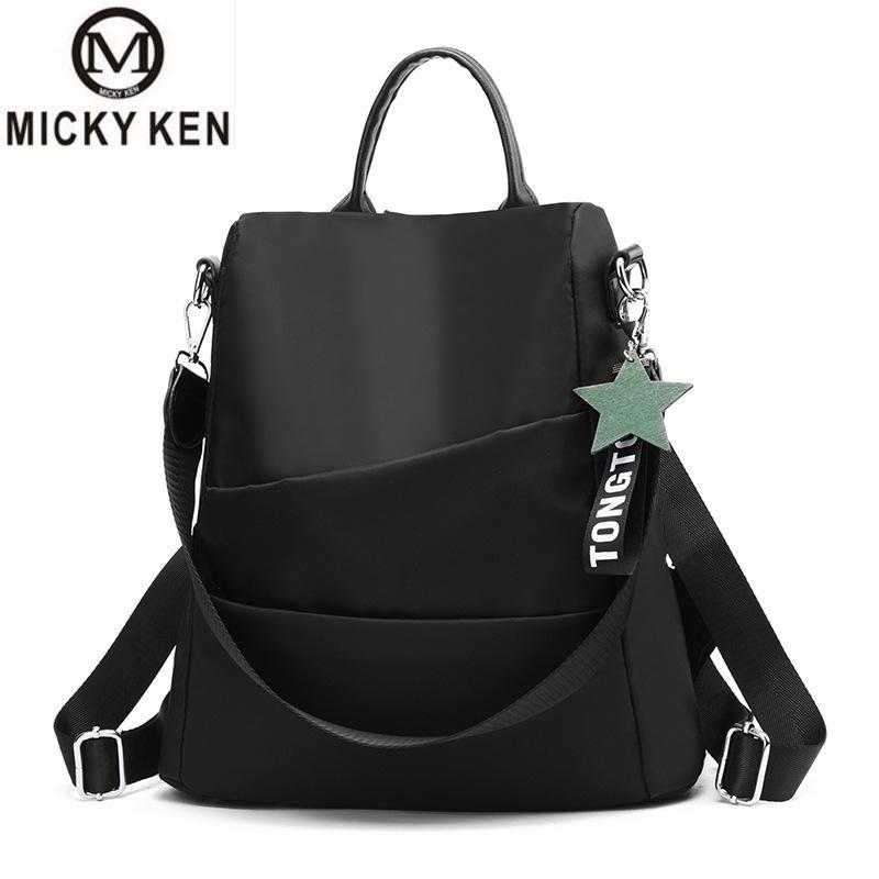 MICKY KEN Brands Mochilas Mujer 2018 New Oxford Cloth Feminina Backpack Large Capacity Splash-proof Bag Fashion Women Backpack