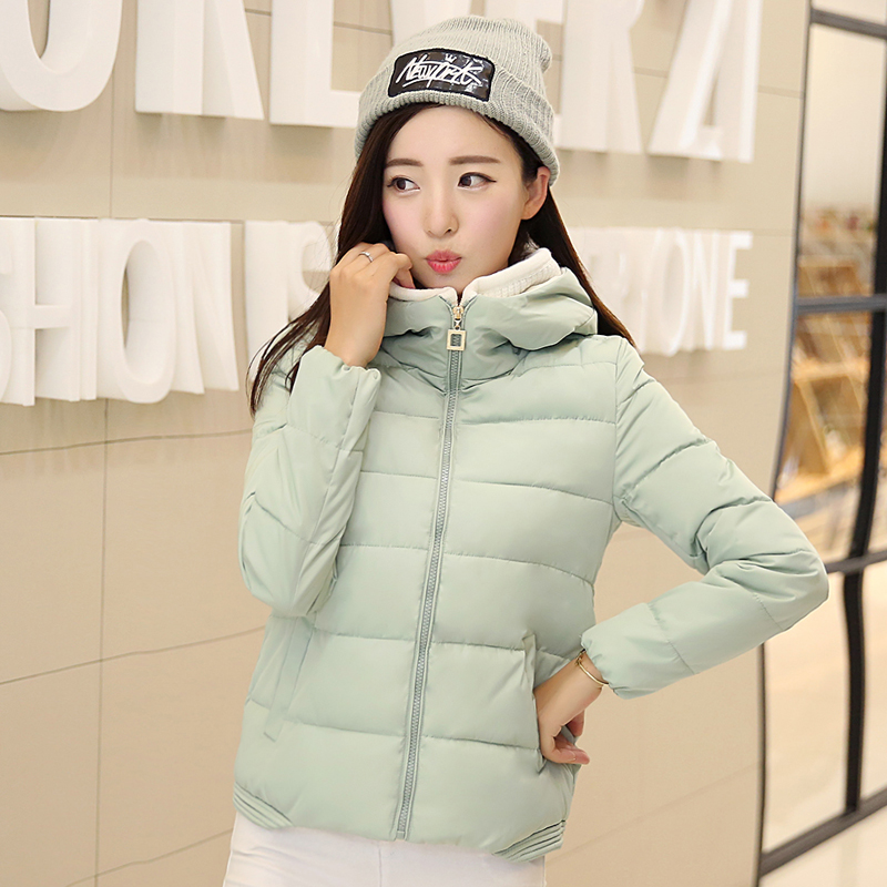 ФОТО TX1509 Cheap wholesale 2017 new Autumn Winter Hot selling women's fashion casual warm jacket female bisic coats