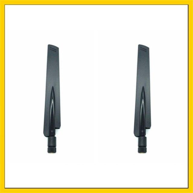 2 PCS 2.4 GHz Wifi אנטנה 12dBi RP SMA זכר מחבר Antena אוויר 2.4 ghz antenne wi fi עבור אלחוטי נתב