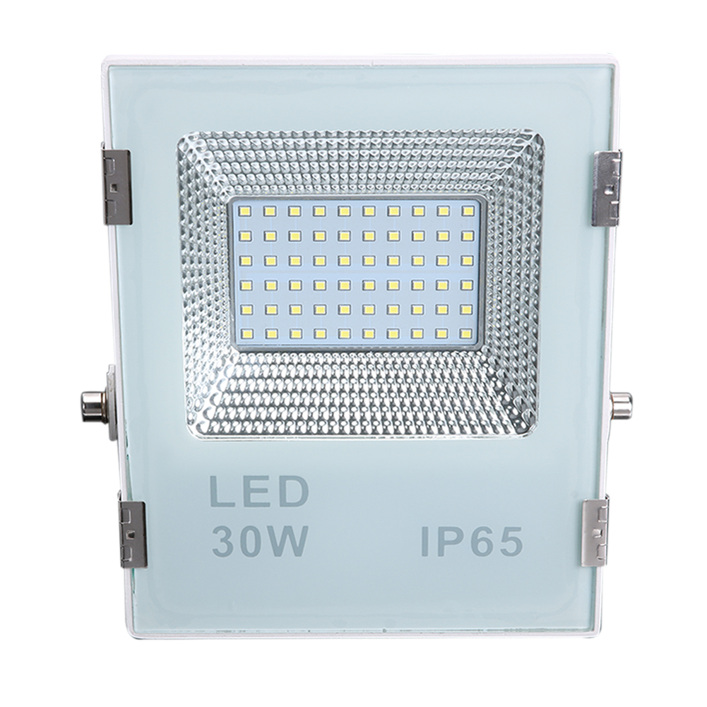 2400LM LED Outdoor FloodLight Projector 30W AC85-264V IP65 Waterproof LED Diamond Spotlight For Garden Square ultrathin led flood light 200w ac85 265v waterproof ip65 floodlight spotlight outdoor lighting free shipping