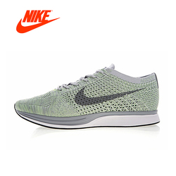 NIKE FLYKNIT RACER Men's Running Shoes Classic Breathable Shoes Outdoor Anti-slip Sneakers for Men Sports Designer Low 526628