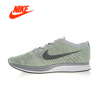 NIKE FLYKNIT RACER Men's Running Shoes Classic Breathable Shoes Outdoor Anti slip Sneakers for Men Sports Designer Low 526628