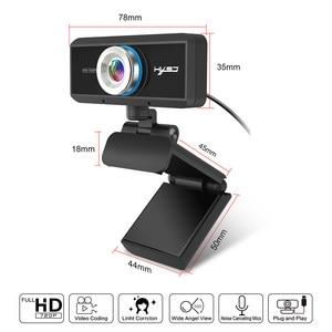 Image 3 - HXSJ USB Web Camera 720P HD 1MP Del Computer Webcam Della Macchina Fotografica Built in fonoassorbente Microfono 1280*720 dinamica Risoluzione PC