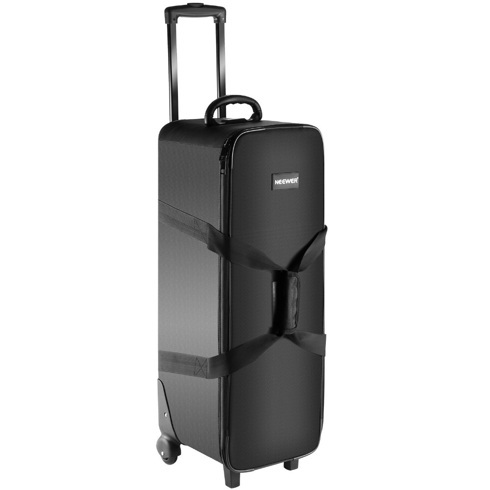 Neewer Photography Roller Bag for Photo Video Studio on Location Shoots storage hard shoulder bags Carrying case for LED light fpv package remote controller storage bag drone portable carrying case can place propeller tool video glasses battery monitor