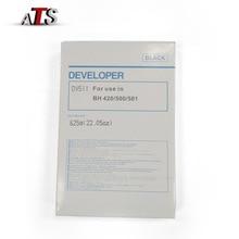 цена на Black DV511 Developer Powder For Konica Minolta Bizhub BH 420 421 500 501 360 361 compatible BH420 BH421 BH500 BH501 BH360 BH361