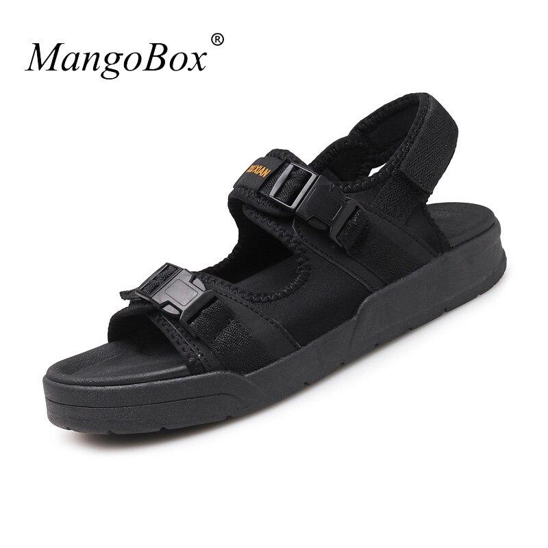 New Cool Sandals Men 2018 Summer Mens Shoes Walking Sandals Brand Designer Men Slides Flip Flops Fashion Mensa Shoes For Sandals