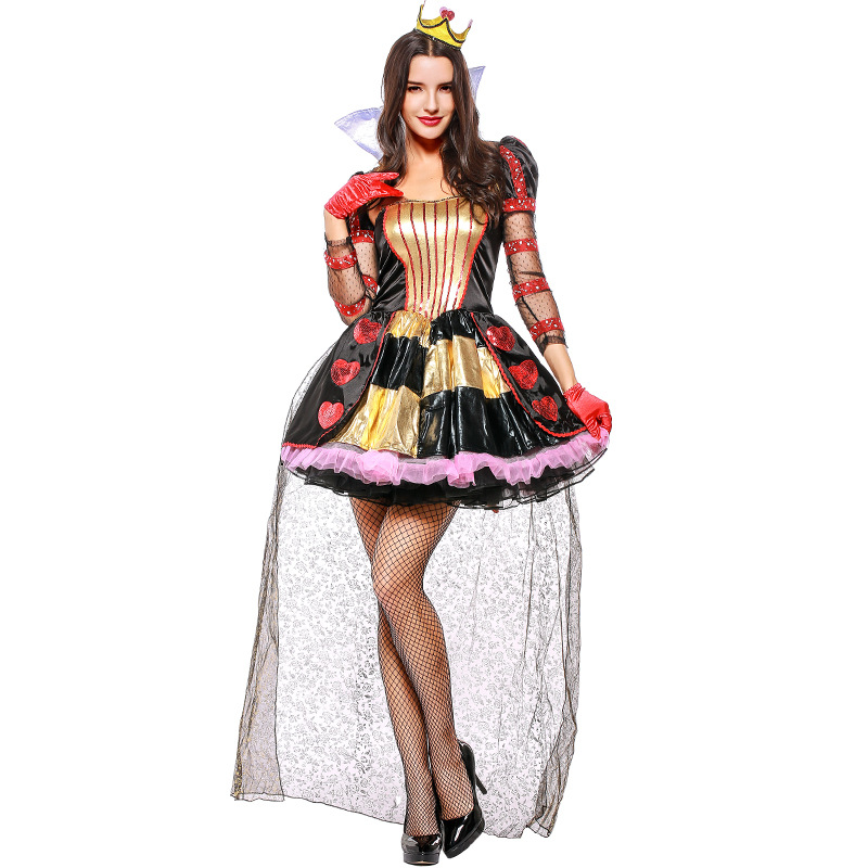 High Quality Limited Adult Women Halloween Queen Costume