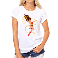 Wonder Woman T Shirt Women 2016 Tee Shirt Graphic Tees Girl T Shirt Tops Women 2016