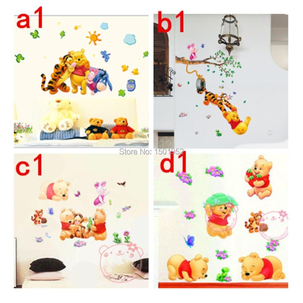 Winnie The Pooh Wall Stickers Nursery Boy Kids Baby Room Vinyl Art Decal  Decor ... Part 66