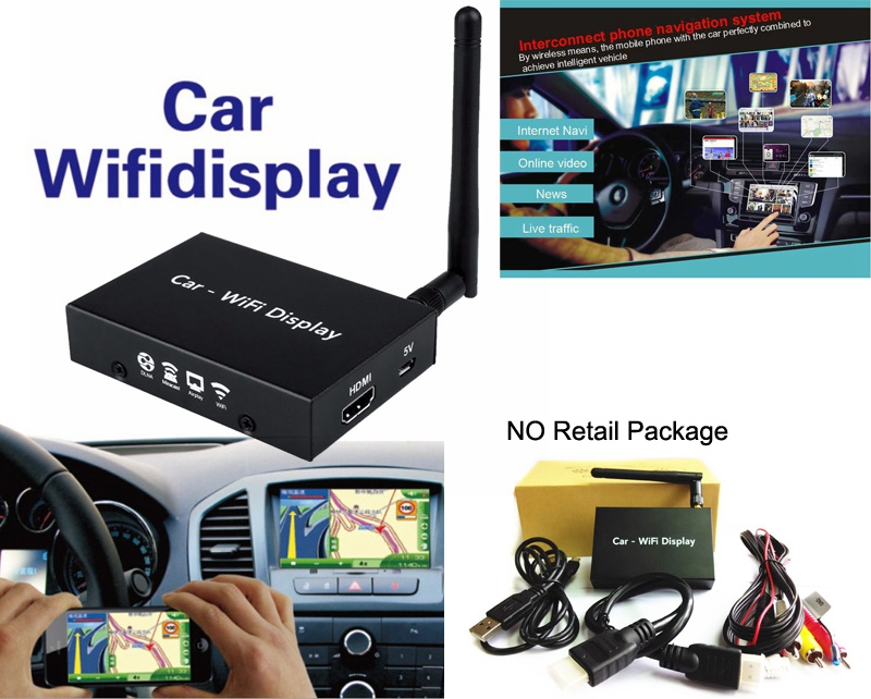 Car Mirror Link Box Home TV WiFi Screen Mirroring Airplay DLNA Miracast HDMI Video Adapter for iPhone X XS MAX XR 6 7 8 AndroidCar Mirror Link Box Home TV WiFi Screen Mirroring Airplay DLNA Miracast HDMI Video Adapter for iPhone X XS MAX XR 6 7 8 Android