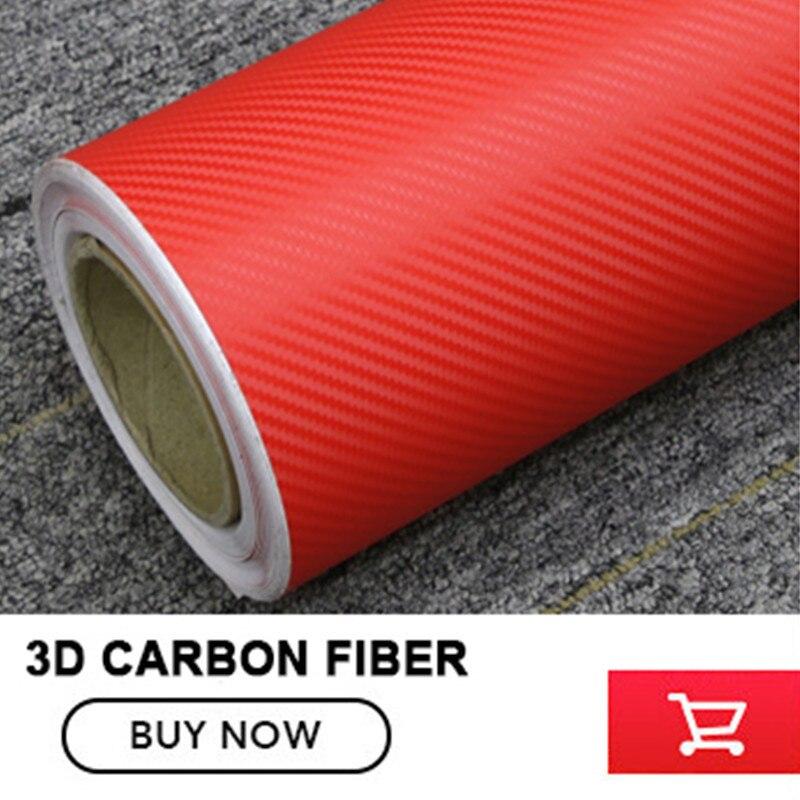 1.52*30m/Roll car foil wrap 3D White Carbon Fiber Vinyl For car Decorative free shipping Some countries