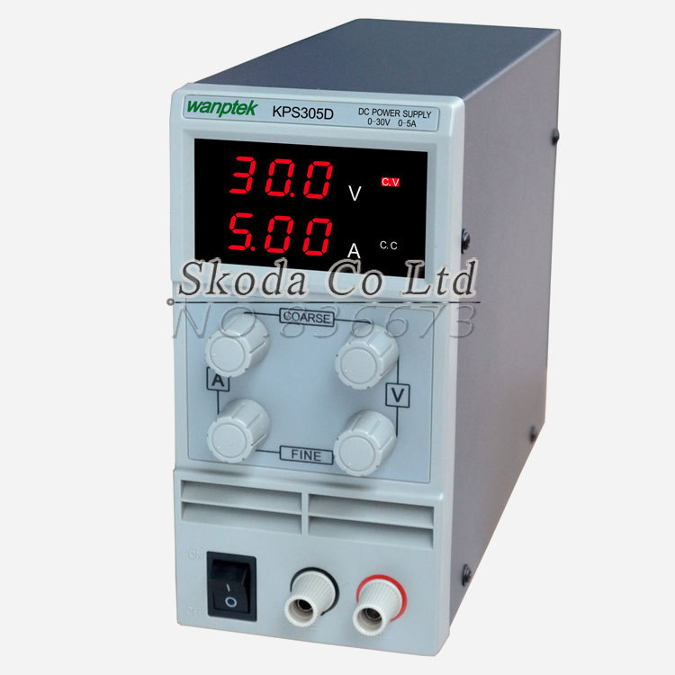 ФОТО wholesale KPS305D 30V 5A Switch DC power supply 0.1V 0.01A Digital Display adjustable Mini DC Power Supply
