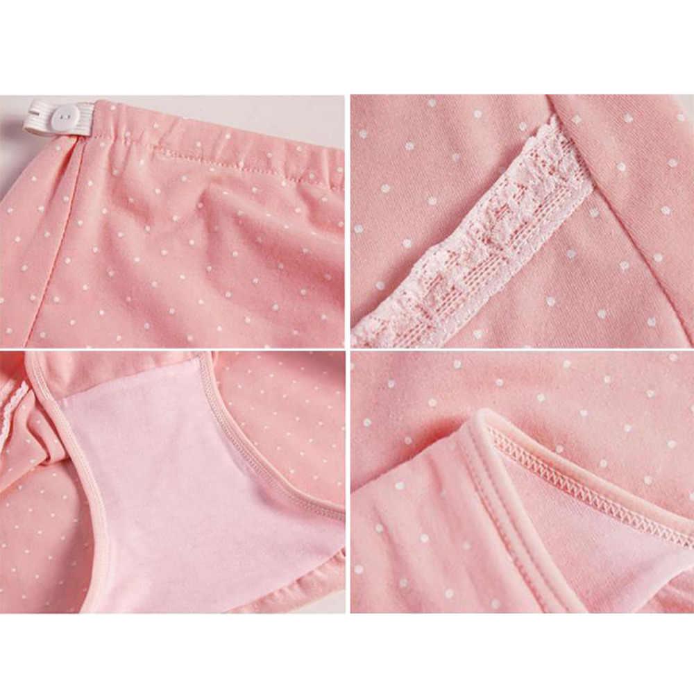การตั้งครรภ์คลอดบุตรชุดชั้นในสตรีหน้าท้องดูแลกางเกงตั้งครรภ์ผู้หญิงสูงเอวกางเกงผ้าฝ้ายกางเกงเสื้อผ้า