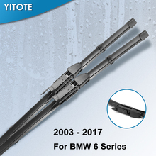 YITOTE стеклоочистители ветрового стекла для BMW серий 6 E63 E64 F06 F12 F13 630Ci 630i 645Ci 640i 650i 635d 640i 640d 640d xDrive M6