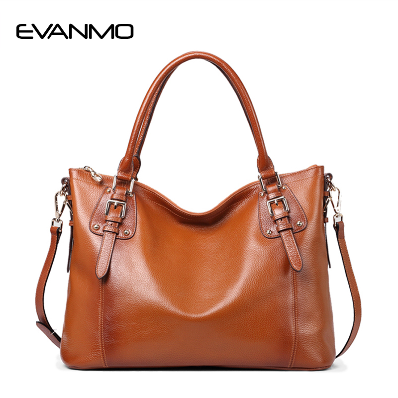 New Arrival Genuine Leather Tote Bag Women Handbags Big Capacity Fashion Shoulder Bag Casual Simple Totes Fresh shoulder Bag softorbits softskin photo makeup домашний фотомакияж цифровая версия