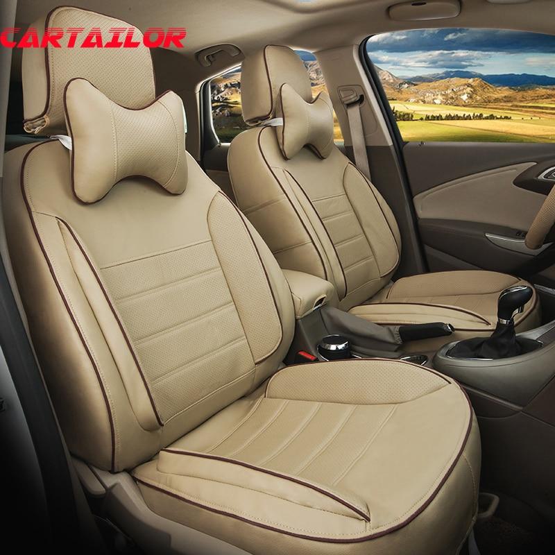 CARTAILOR Auto Seat Soportes para Ford Explorer 2016 2018 2013 Fundas - Accesorios de interior de coche - foto 1