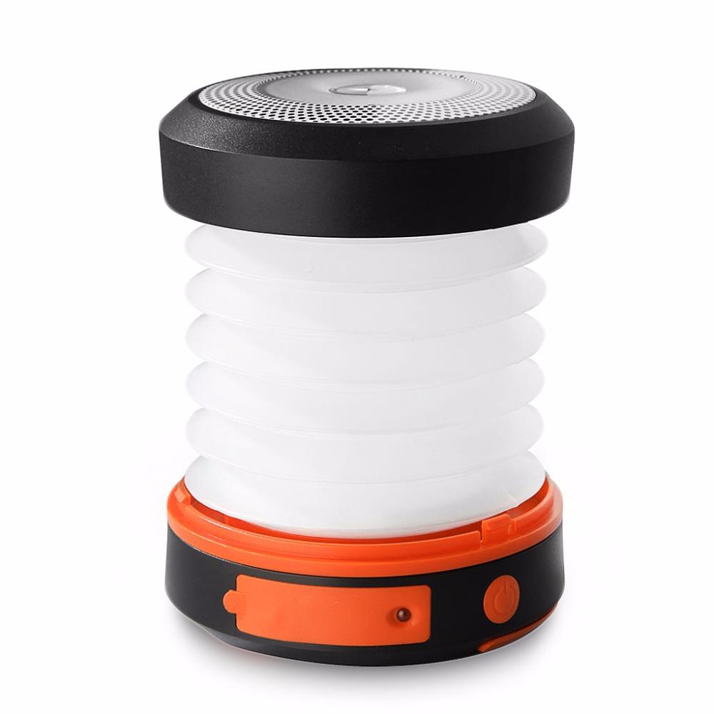 Linterna Panel Solar USB con batería recargable de 800 mAh