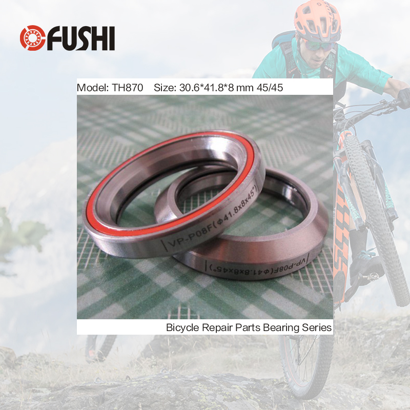цены MH-P08F Bearing 30.6*41.8*8 mm 45/45 ( 1 PC ) ABEC-3 TH870 Bicycle Hub Front Rear Hubs Wheel Ball Bearings