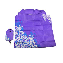Cute Floral Patterned Foldable Wear-Resistant Nylon Tote Bag