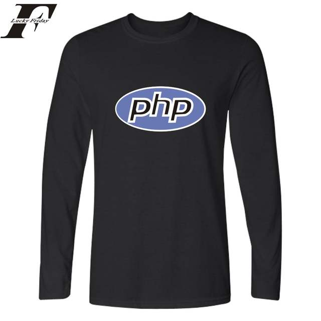 US $14 27  Trust Me I'm A Programmer Programming Language C C++ Java PHP  Logo Print Long Sleeve T shirts T Shirt Cotton Programmer Tees-in T-Shirts