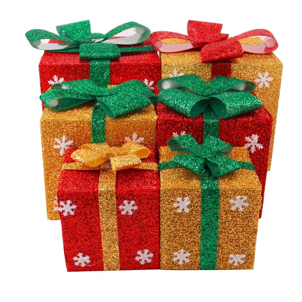 Snowflake Christmas Gift Box DIY PVC Gift Box Candy Cane Nesting 4 ...
